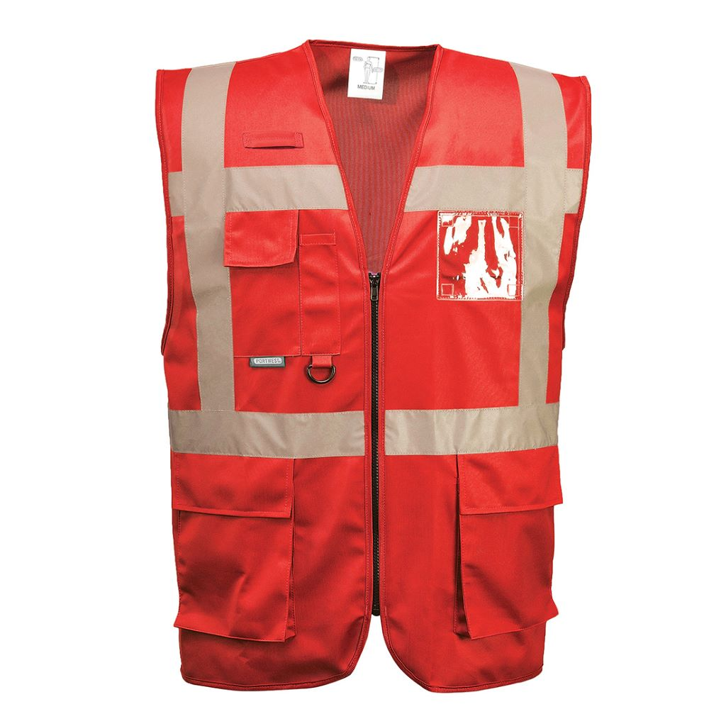 Iona Executive Vest F476 Red