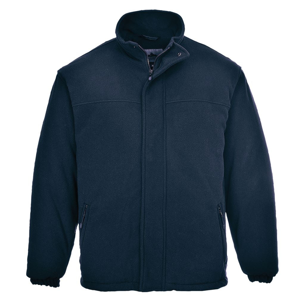 Yukon Quilted Fleece F500 Navy