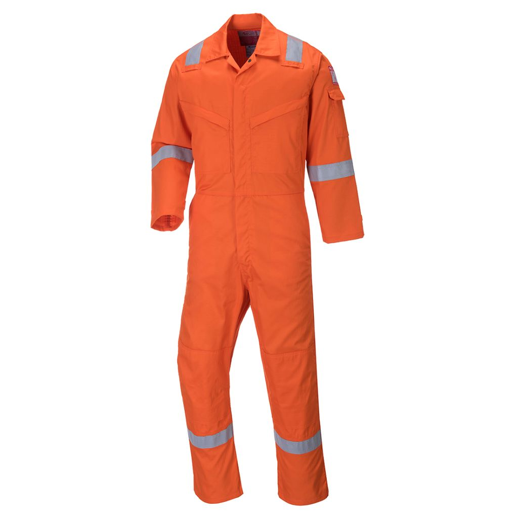 Aberdeen FR Coverall FF50 Orange