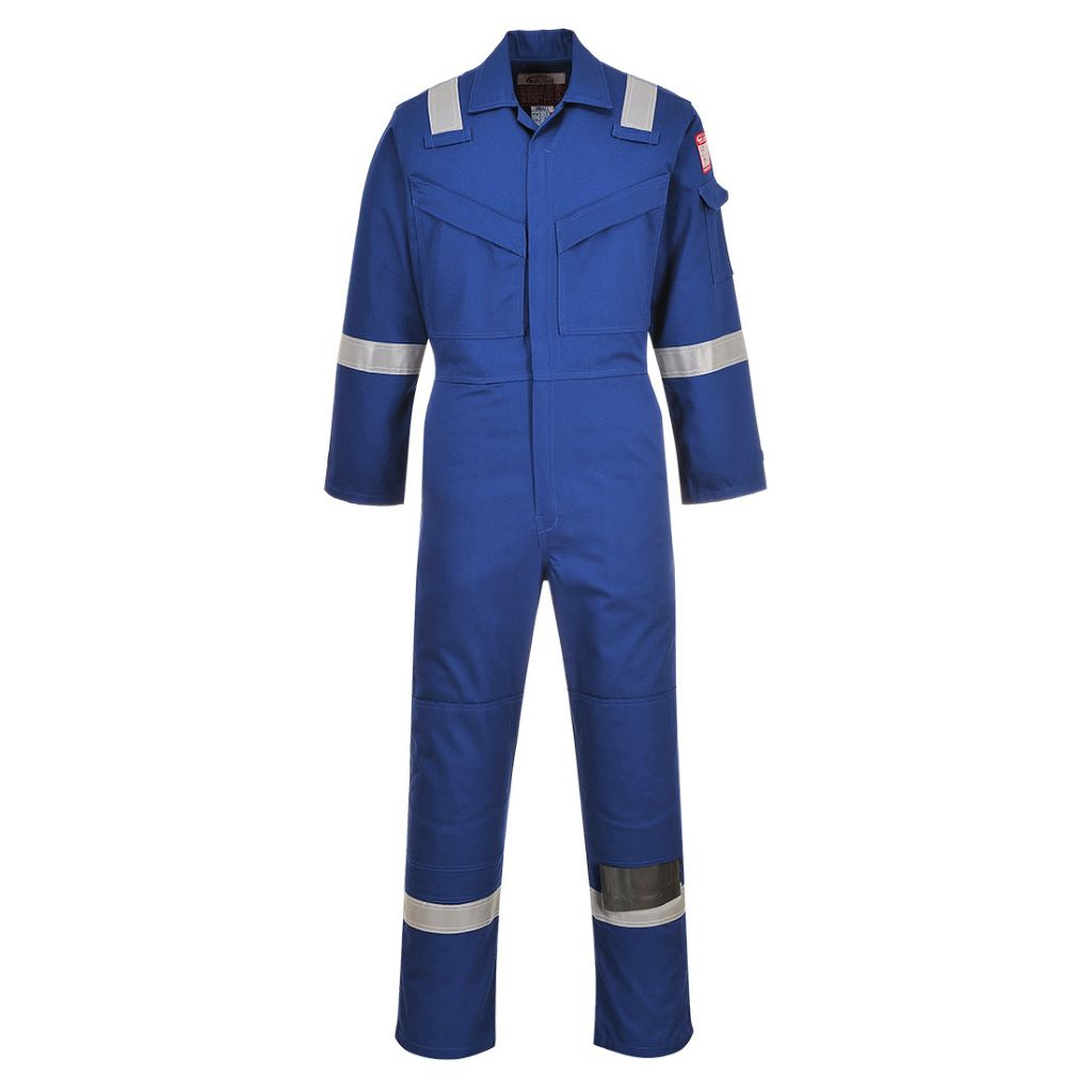 Aberdeen FR Coverall FF50 Royal
