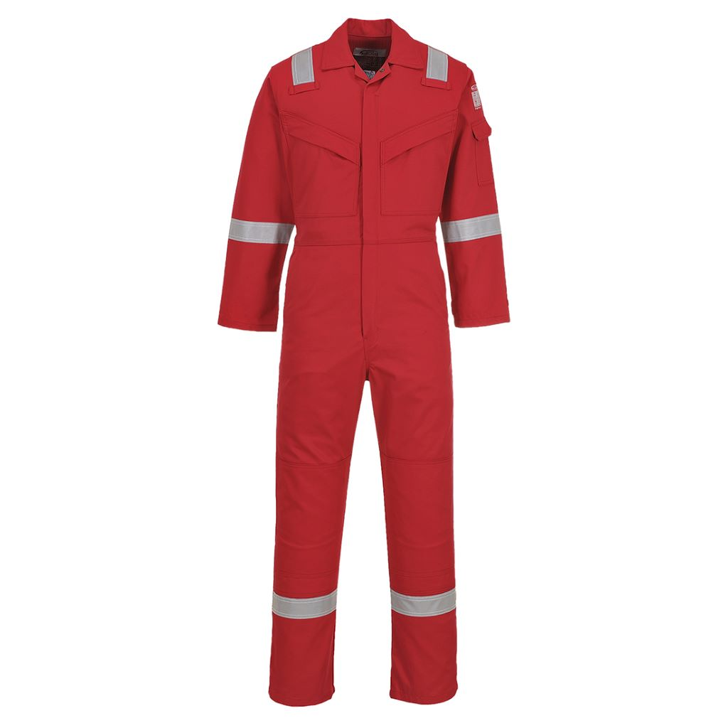 Aberdeen FR Coverall FF50 Red