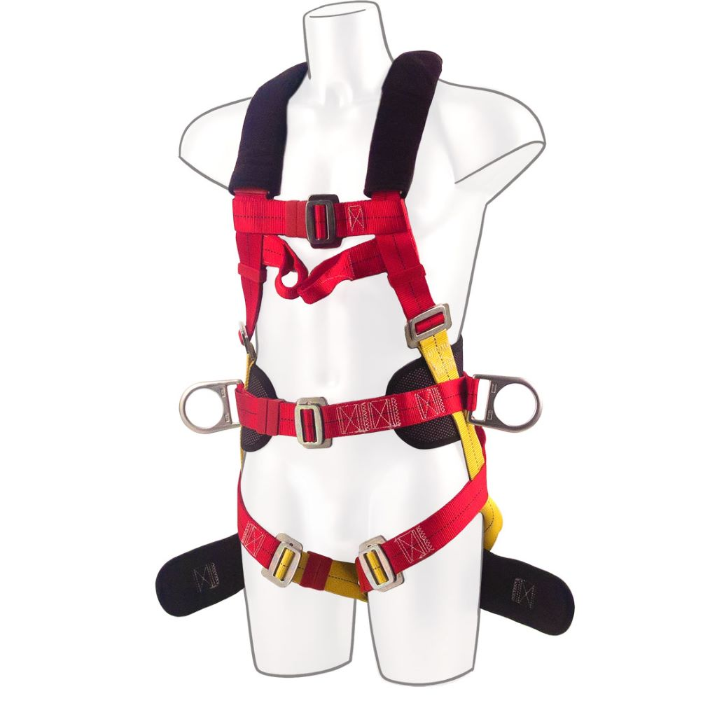 3-Point Harness Comfort Plus FP18 Red