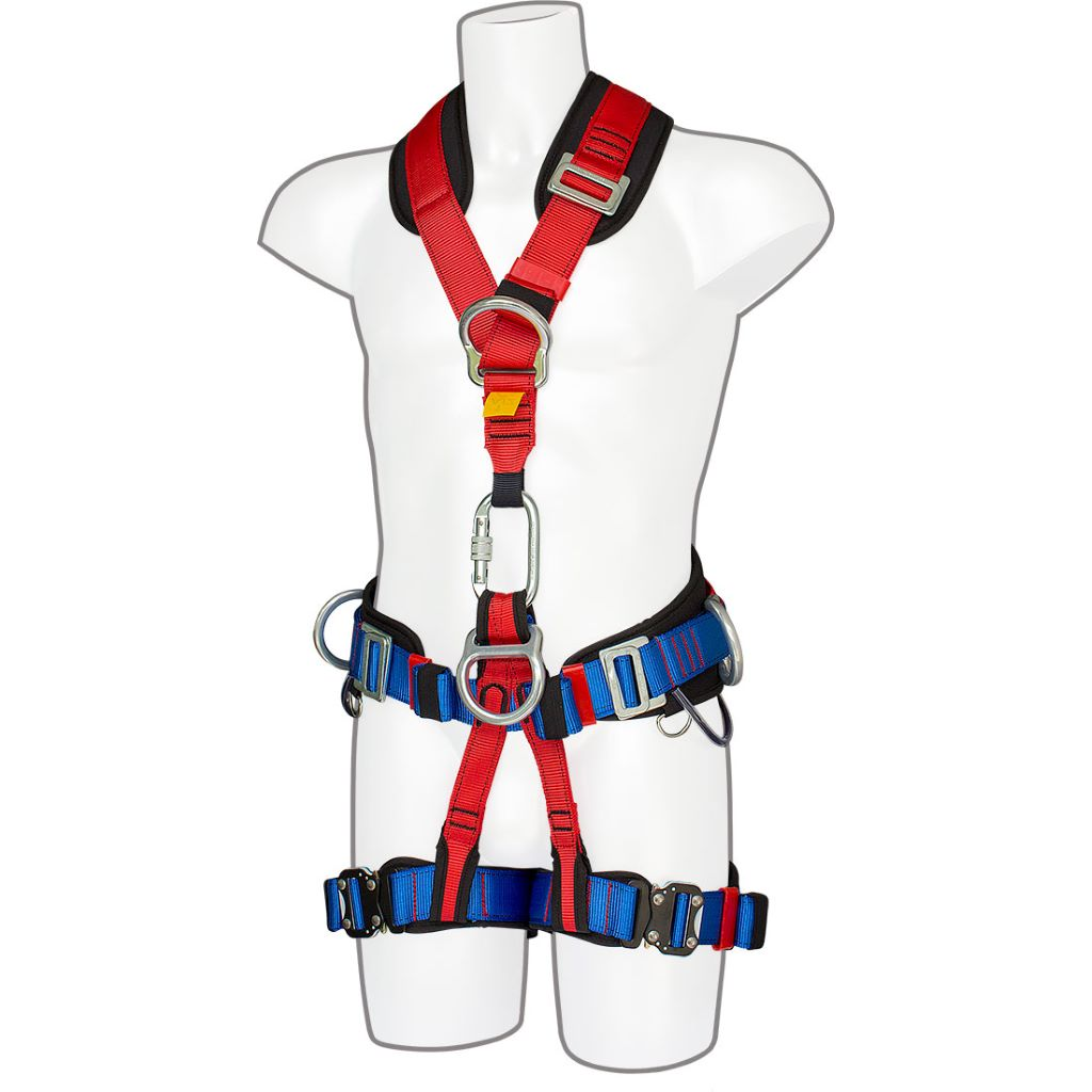4-Point Harness Comfort Plus FP19 Red