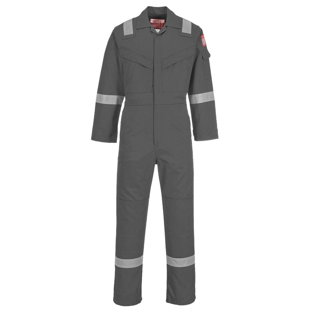 Lightweight AS Coverall FR28 Grey