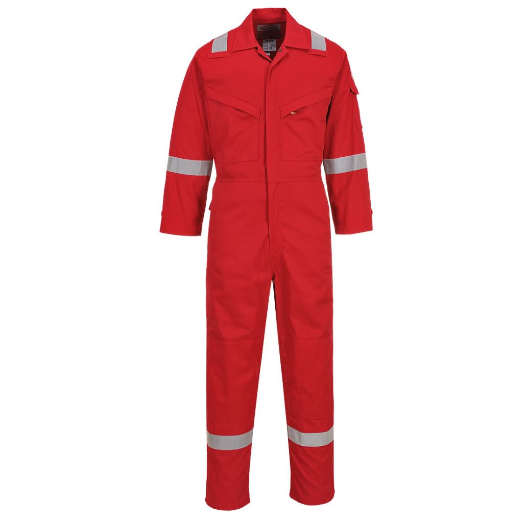 Lightweight AS Coverall FR28 Red