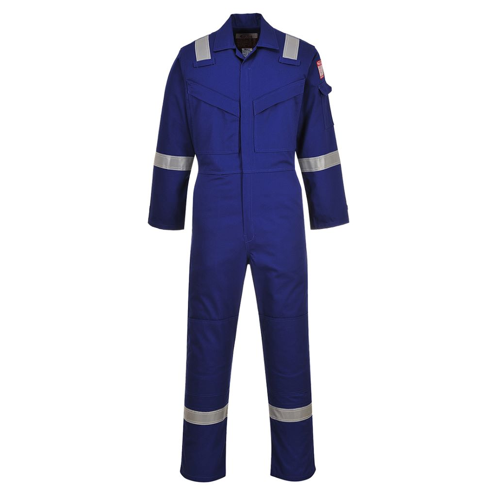 FR & Antistatic Coverall FR50 Royal