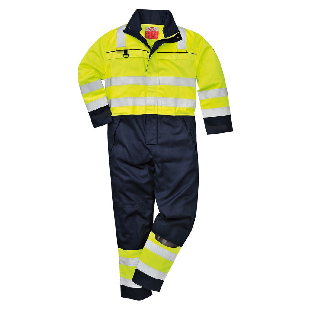 Multi-Norm Coverall FR60 YellowNavy