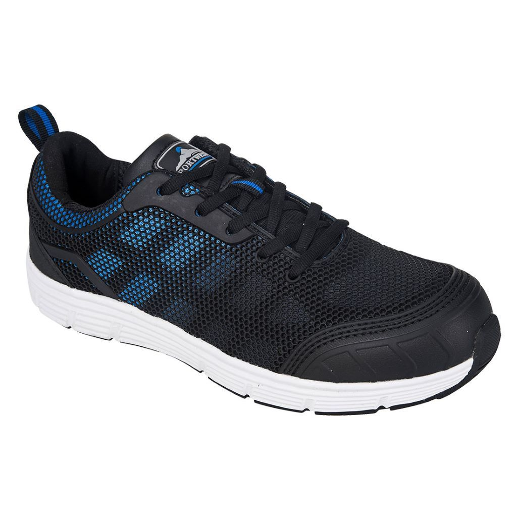 Steelite Tove Trainer  S1P FT15 Black/Blue