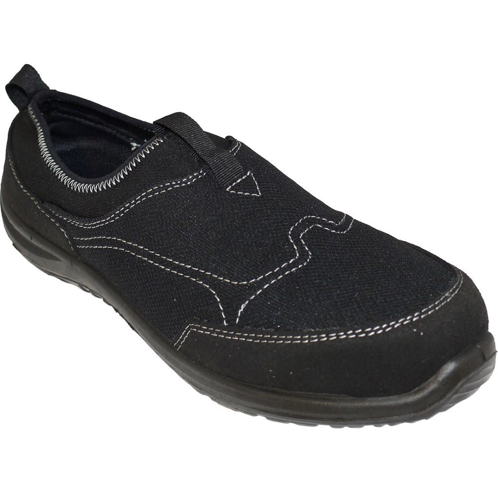 Tegid Slip-On Trainer  S1P FT54 Black