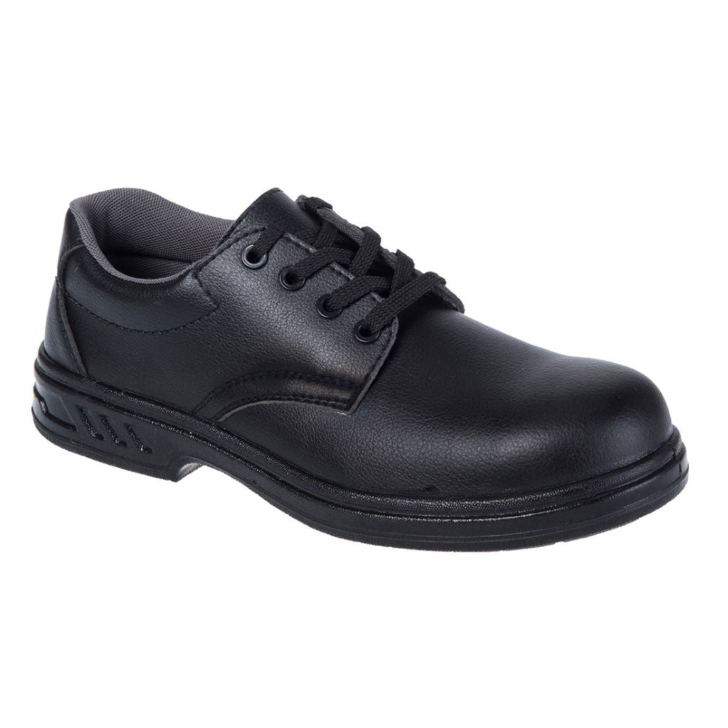 Laced Safety Shoe  S2 FW80 Black