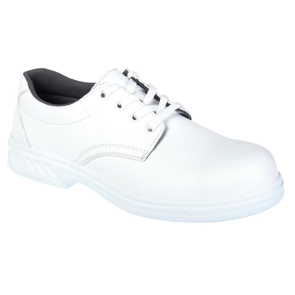 Laced Safety Shoe  S2 FW80 White