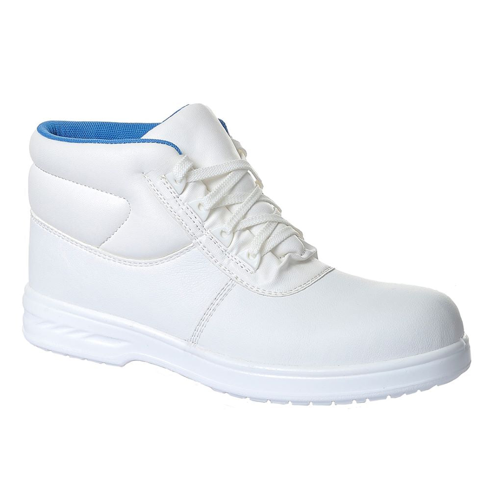 Steelite Albus Laced Boot  S2 FW88 White