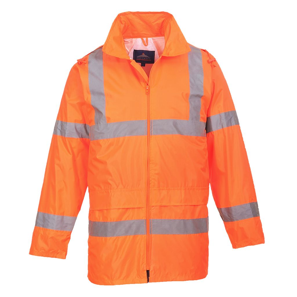 Hi-Vis Rain Jacket H440 Orange