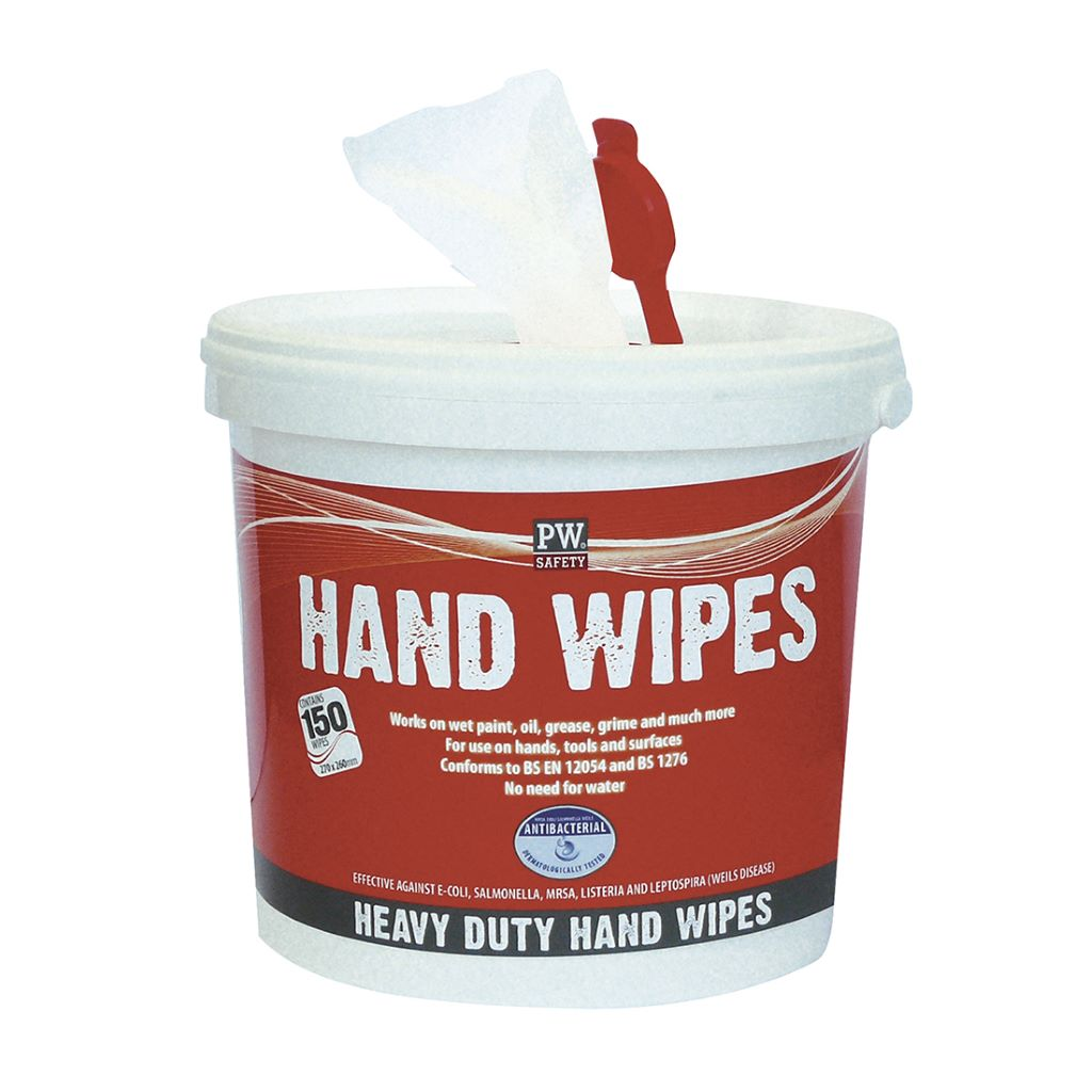 Hand Wipes (Pk150) IW10 White