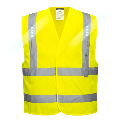 Vega Hi-Vis LED Vest L470 Yellow