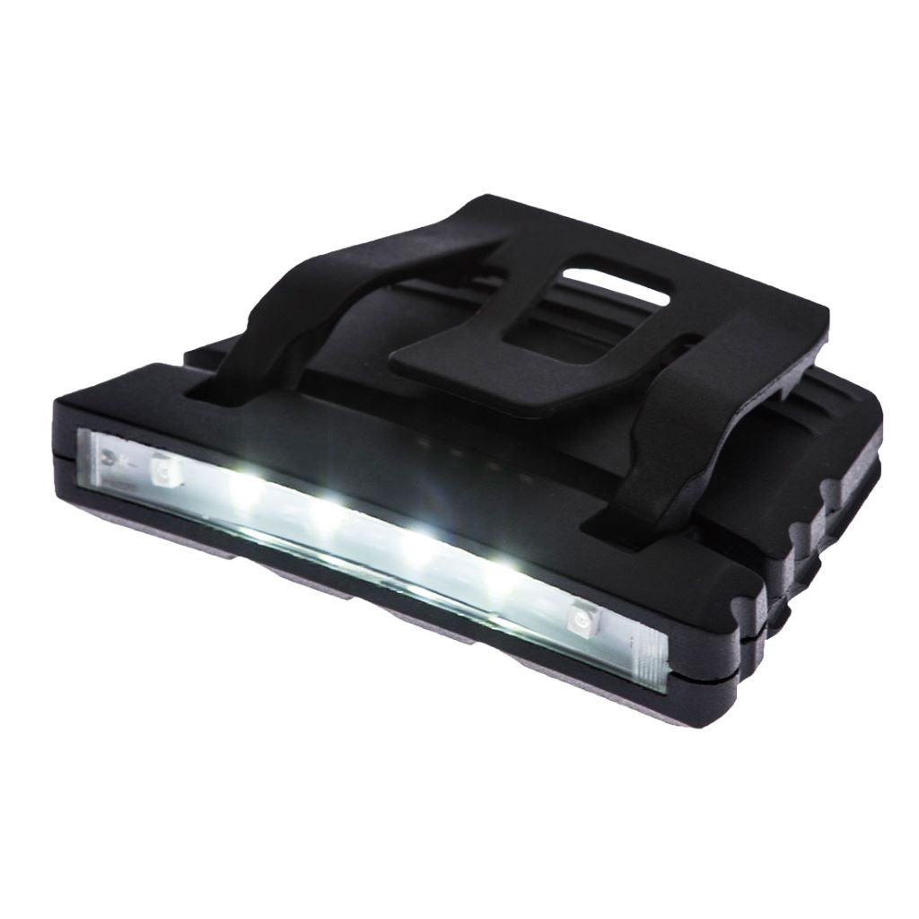 LED Cap Light PA72 Black