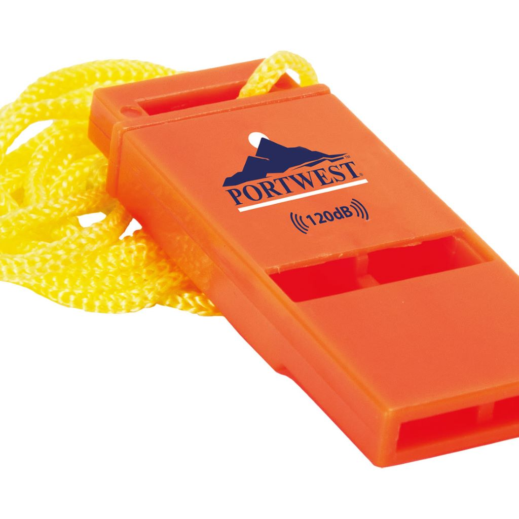 120db Safety Whistle  (Pk20) PA99 Orange