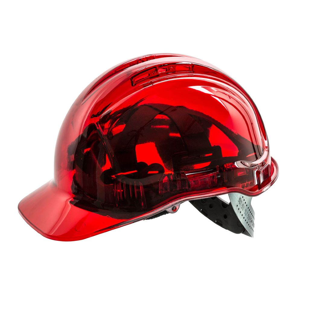 Peak View Plus Helmet PV54 Red
