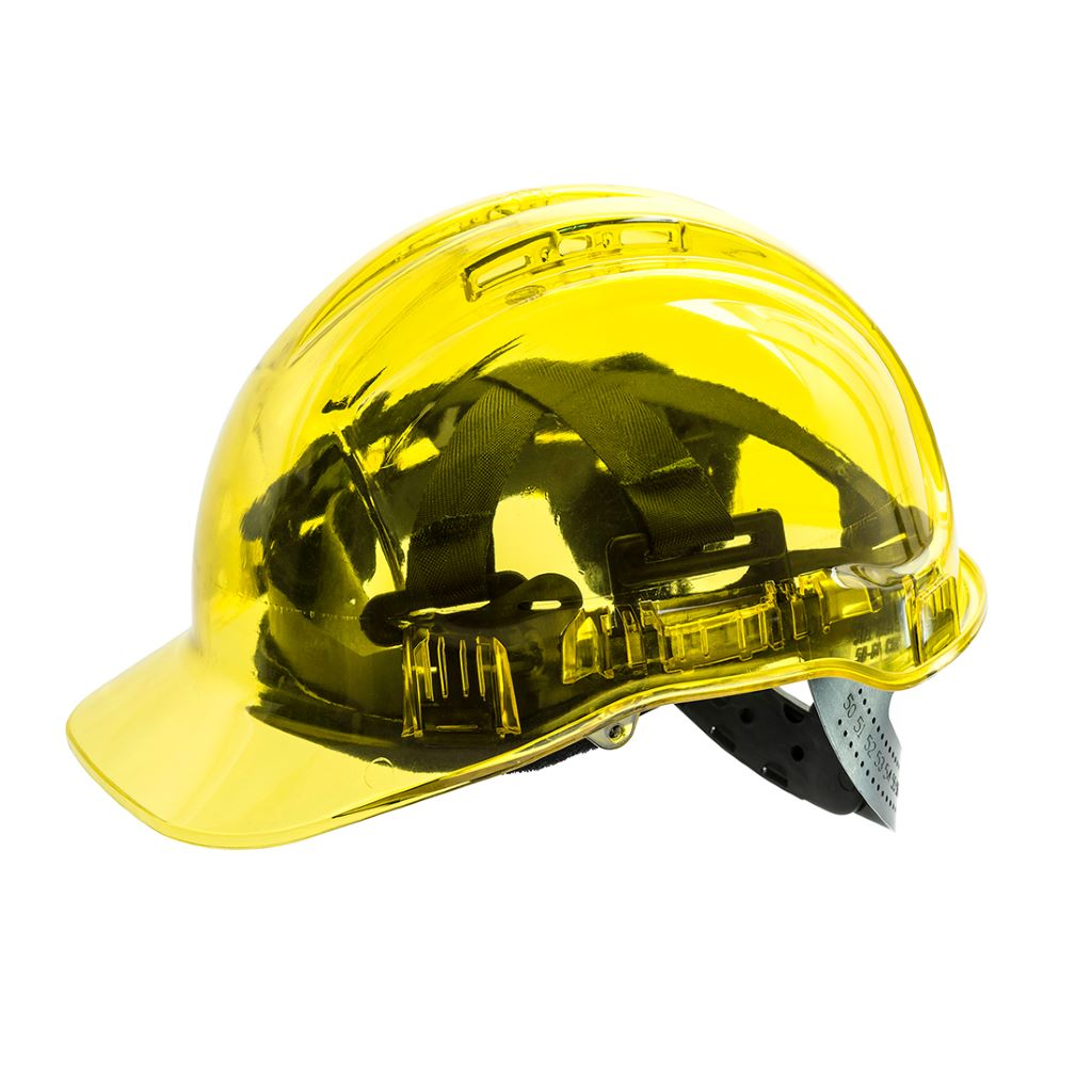 Peak View Plus Helmet PV54 Yellow