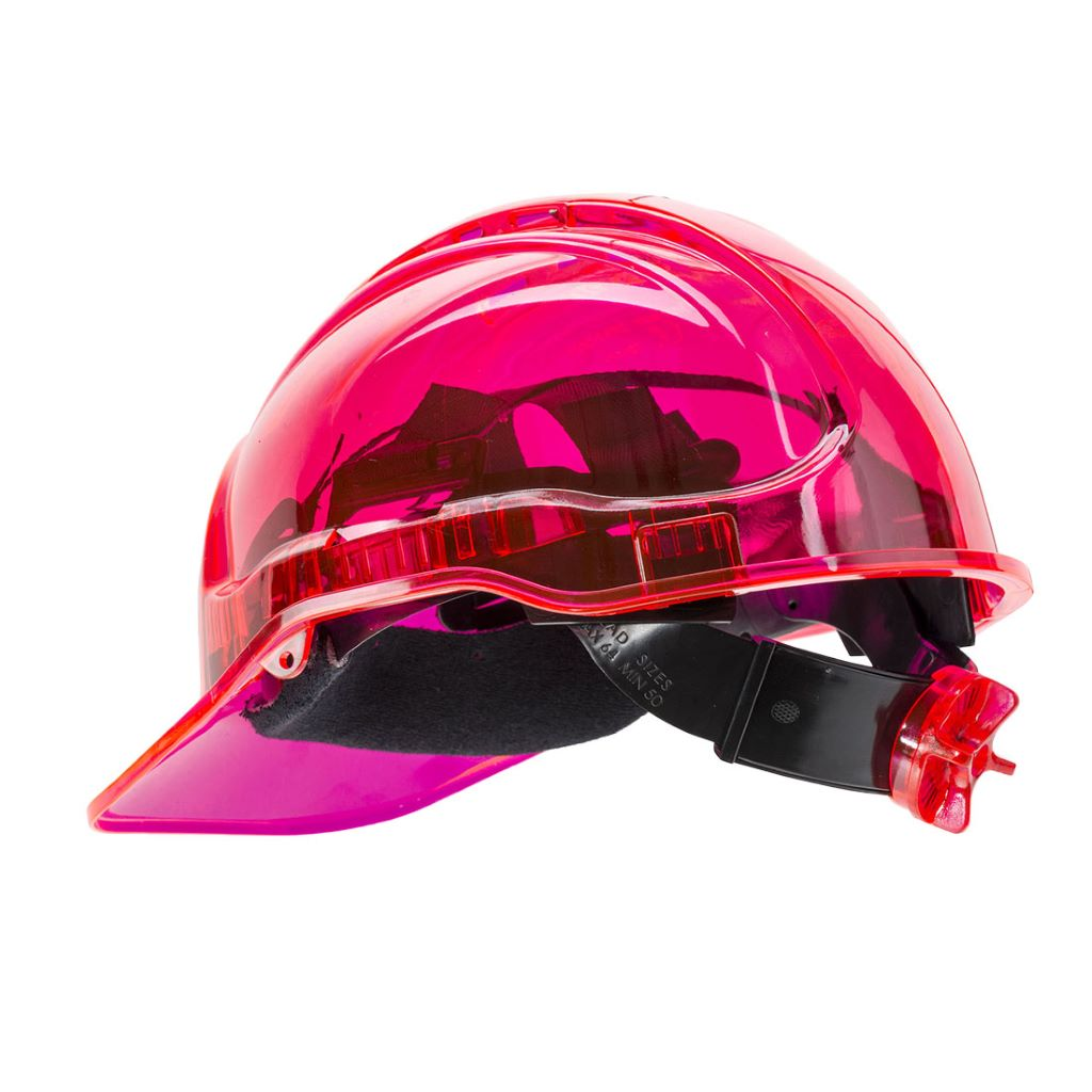Peak View Ratchet Hard Hat PV64 Pink