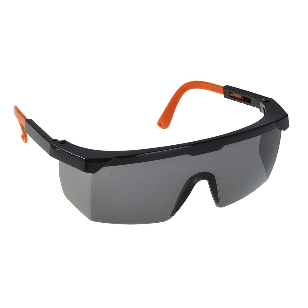 Classic Safety Eyescreen EN166 PW33 SmokeBlack
