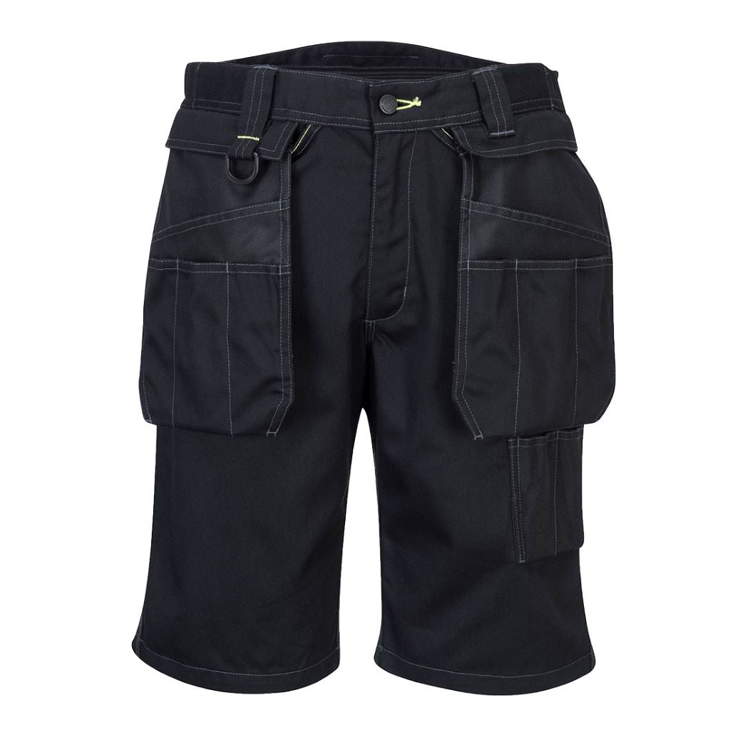 PW3 Holster Work Shorts PW345 Black