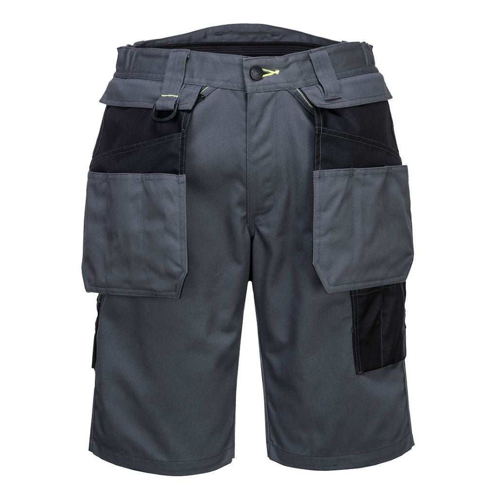 PW3 Holster Work Shorts PW345 GreyBlack