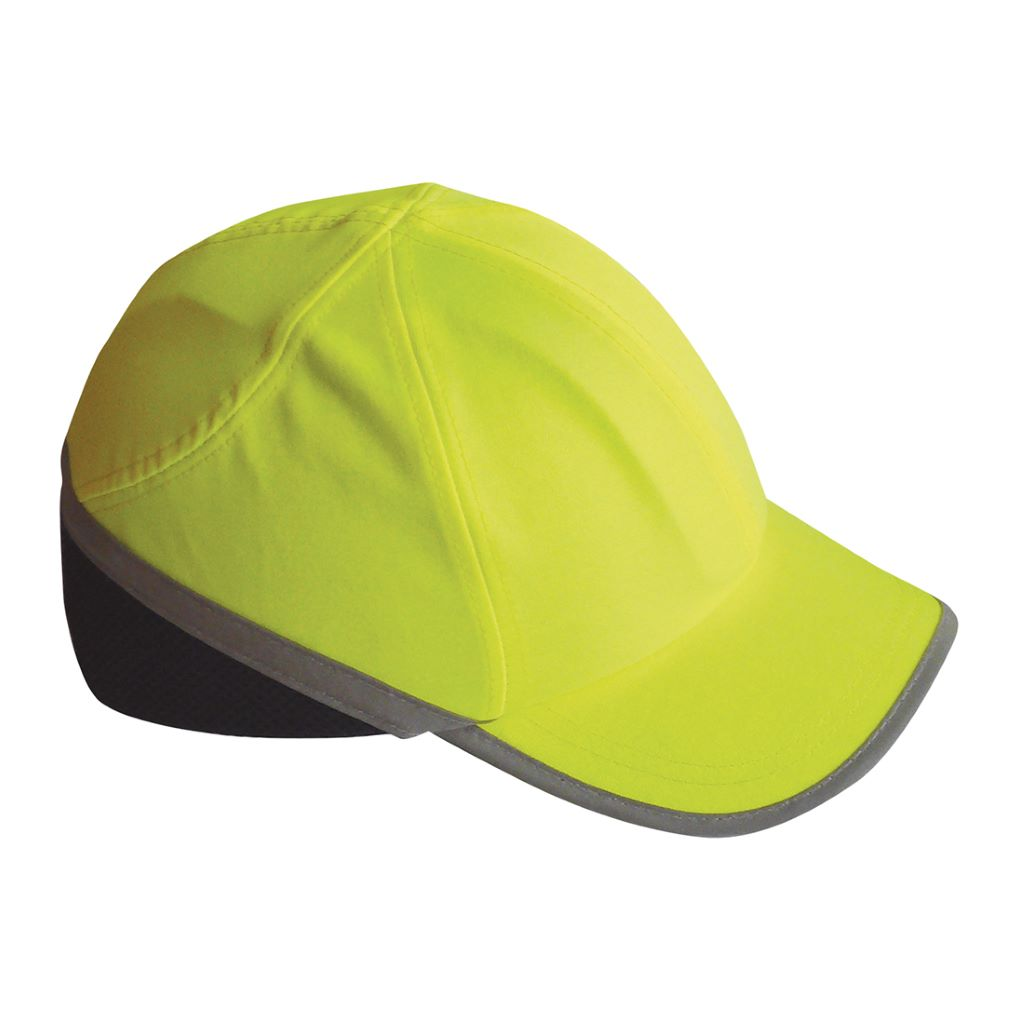Hi Vis Bump Cap PW79 Yellow