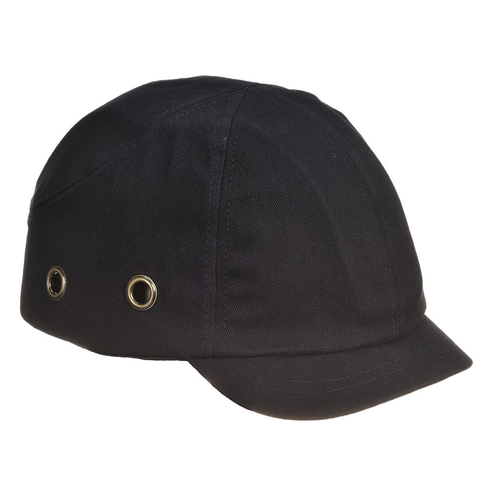 Short Peak Bump Cap PW89 Black