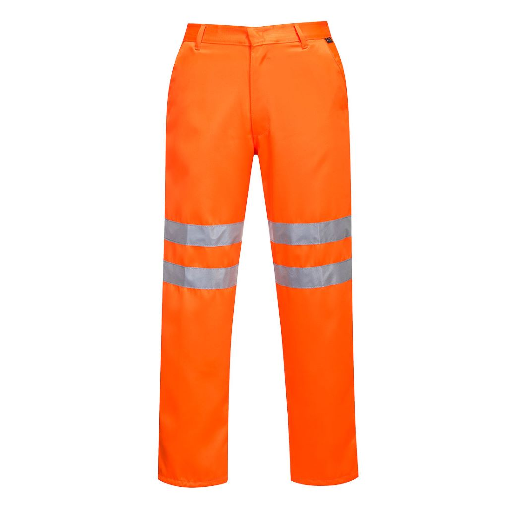 Hi-Vis Polycotton Trousers RIS RT45 Orange