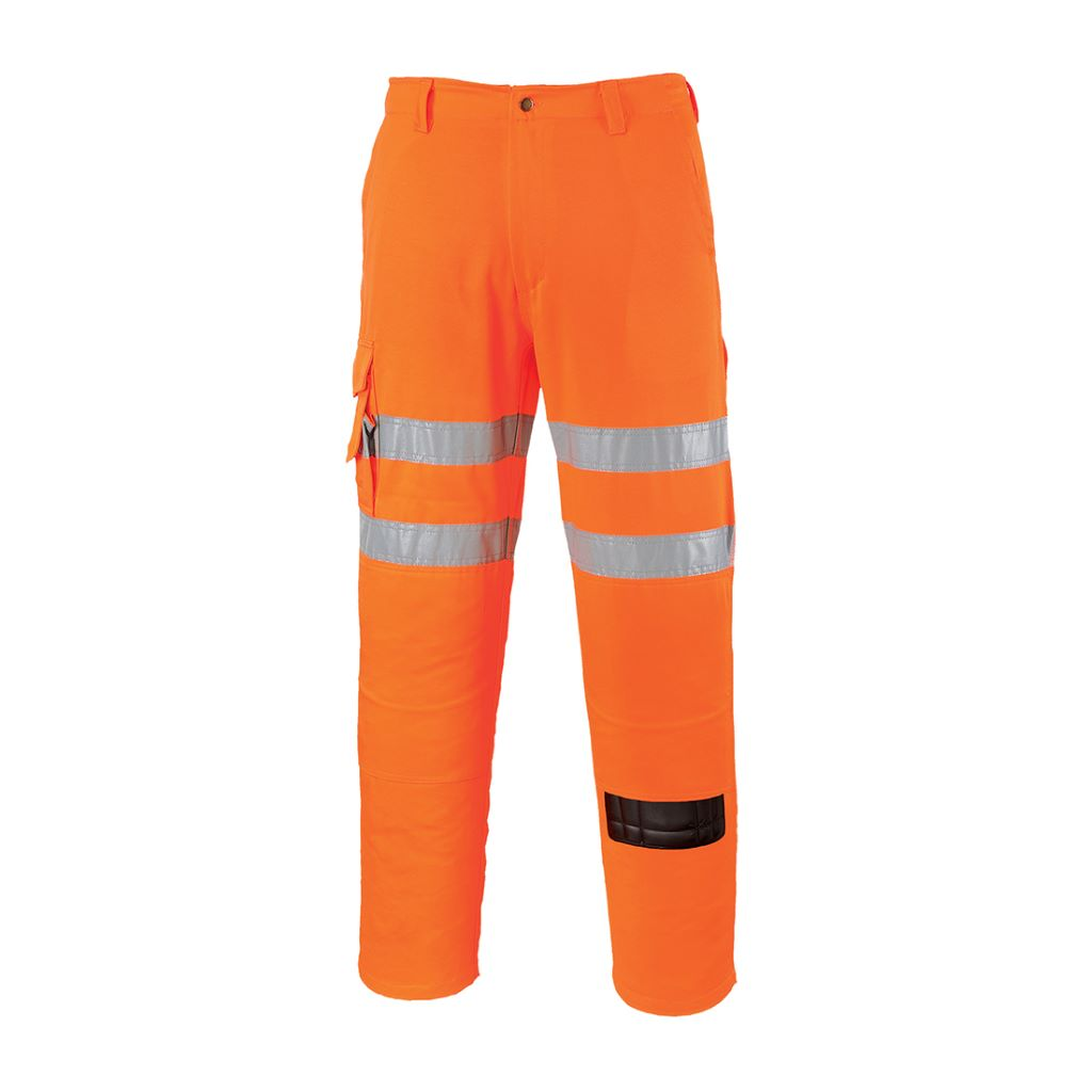 Hi-Vis Combat Trousers RIS RT46 Orange