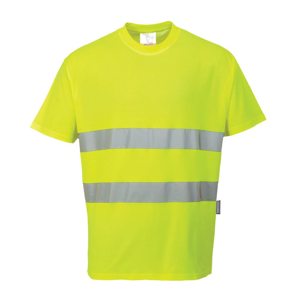 Cotton Comfort T-Shirt S172 Yellow