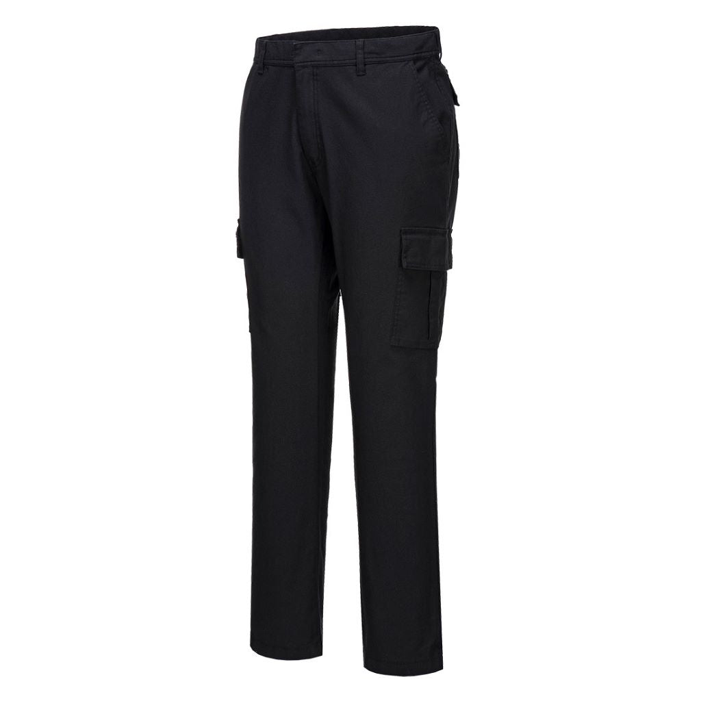 Stretch Combat Trousers S231 Black