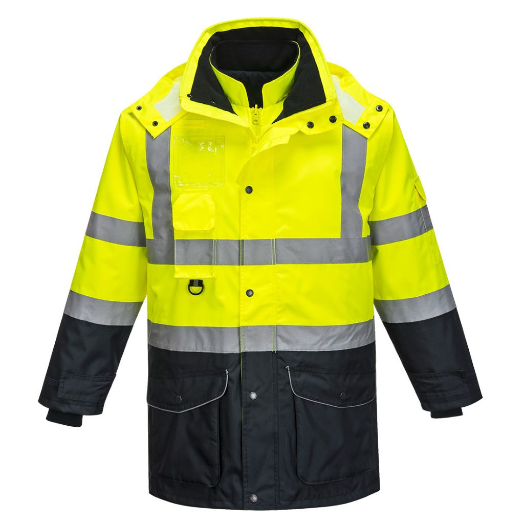 Hi-Vis 7in1 Contrast Jacket S426 YellowNavy