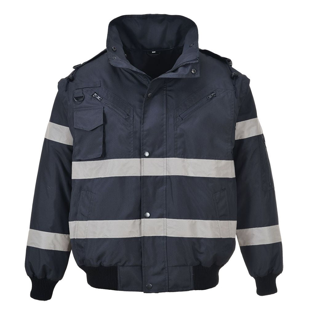 Iona 3in1 Bomber Jacket S435 Navy