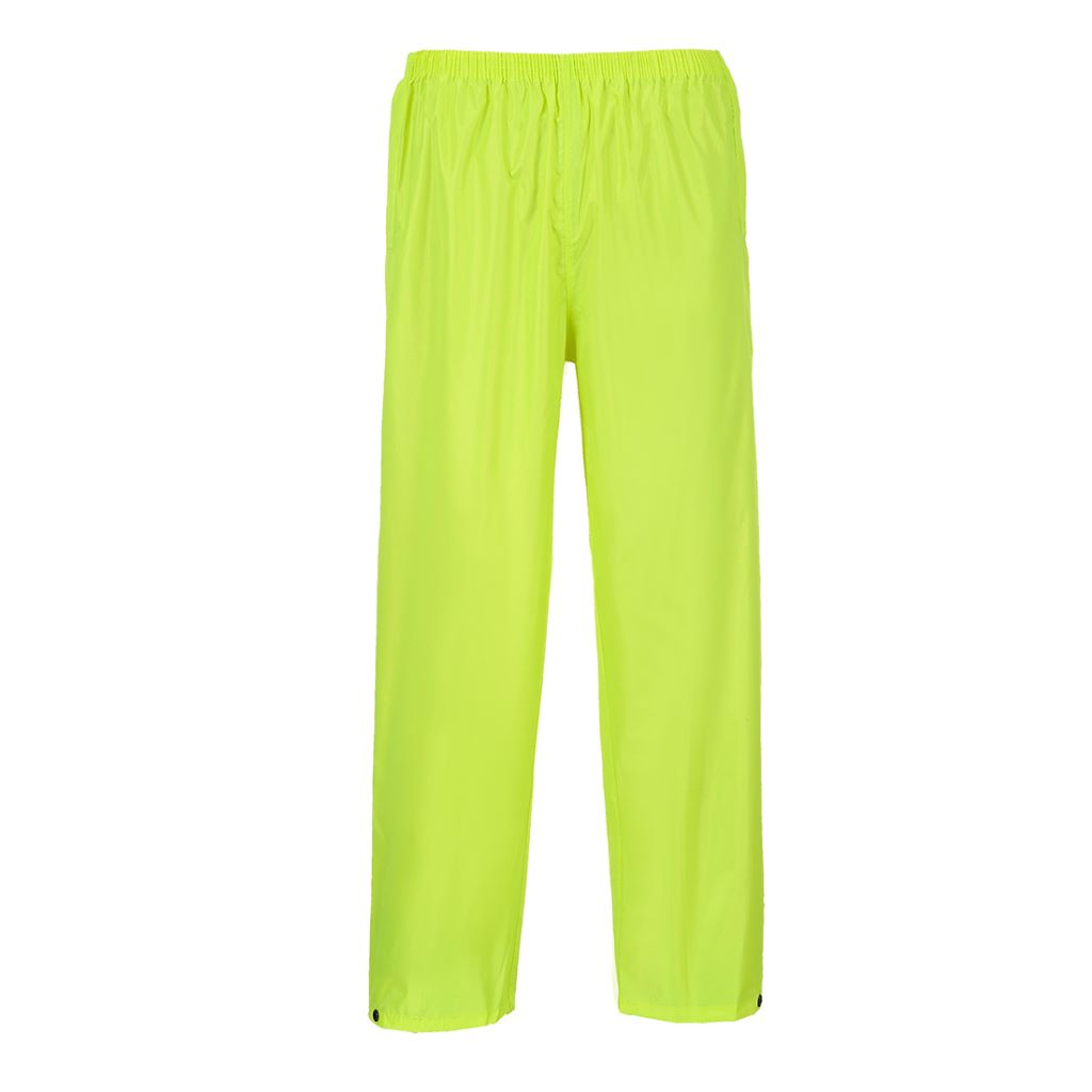 Portwest Rain Trousers S441 Yellow