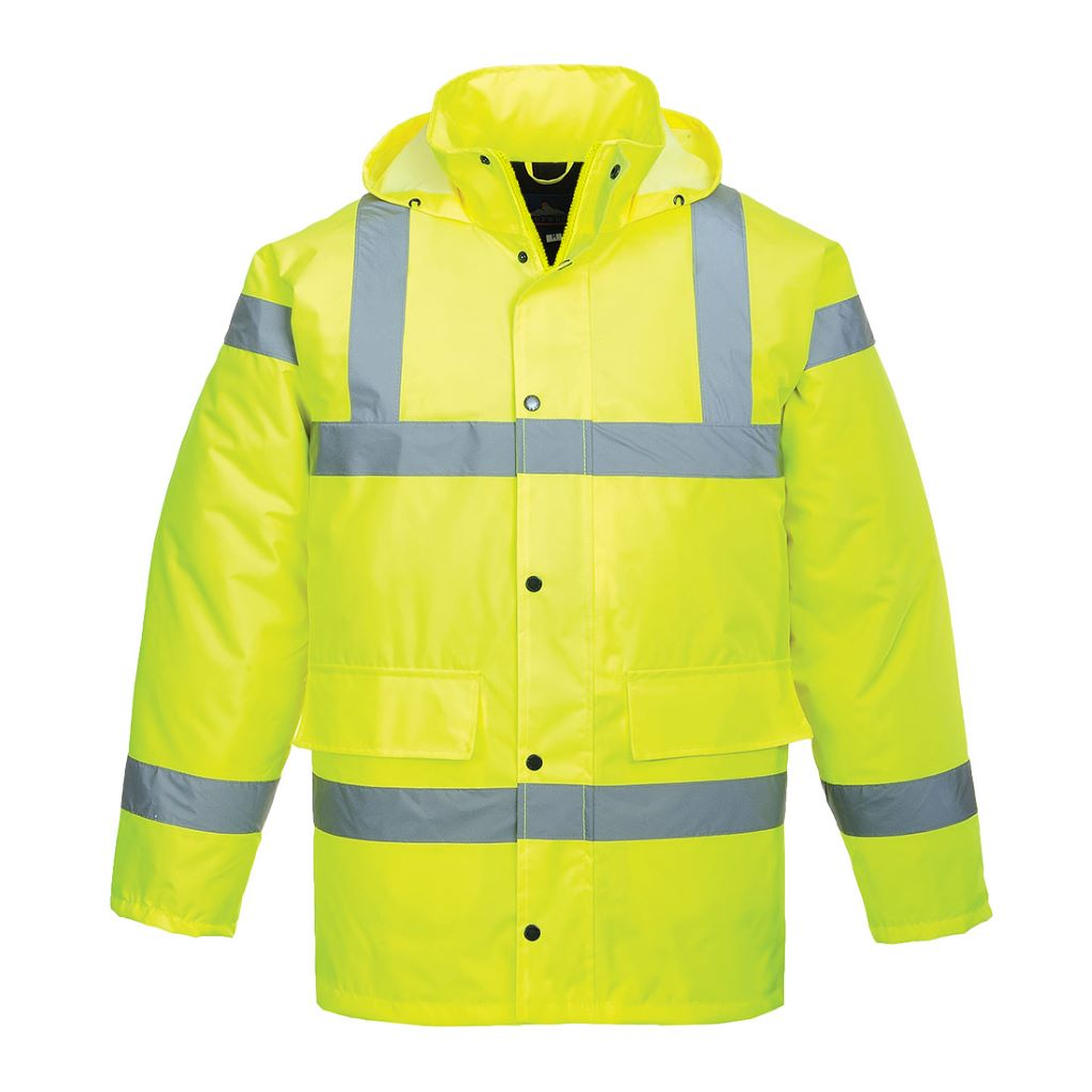 Hi-Vis Traffic Jacket S460 Yellow
