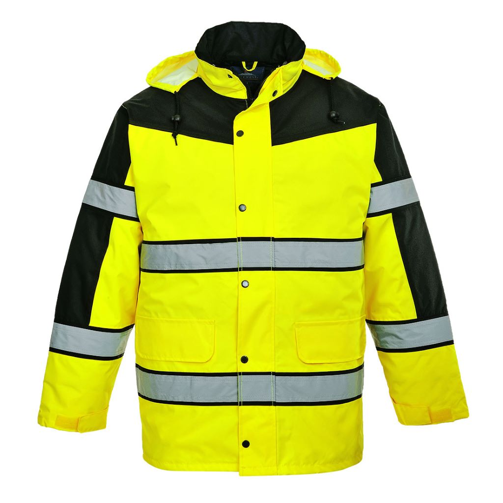 Classic Two-Tone Jacket S462 Yellow