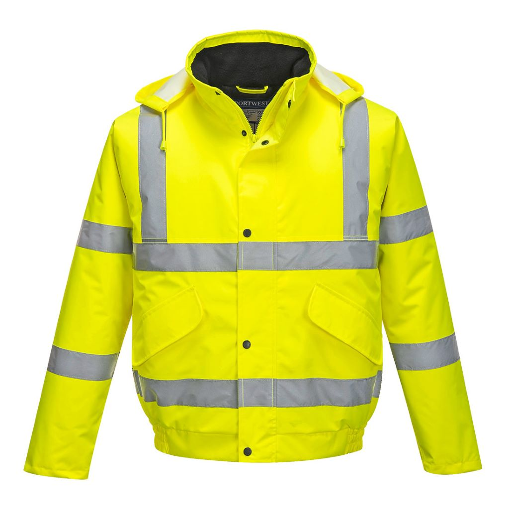 Hi-Vis Bomber Jacket S463 Yellow