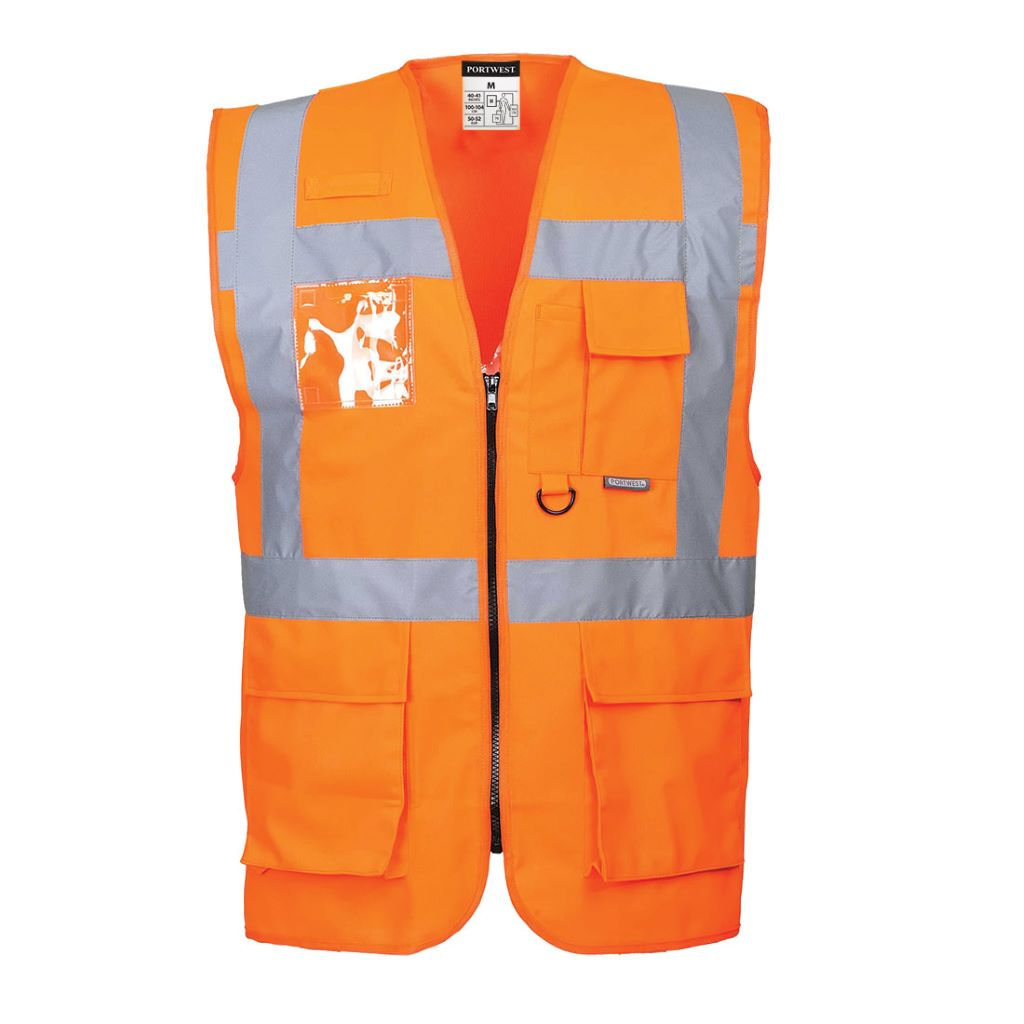 Berlin Executive Vest S476 Orange
