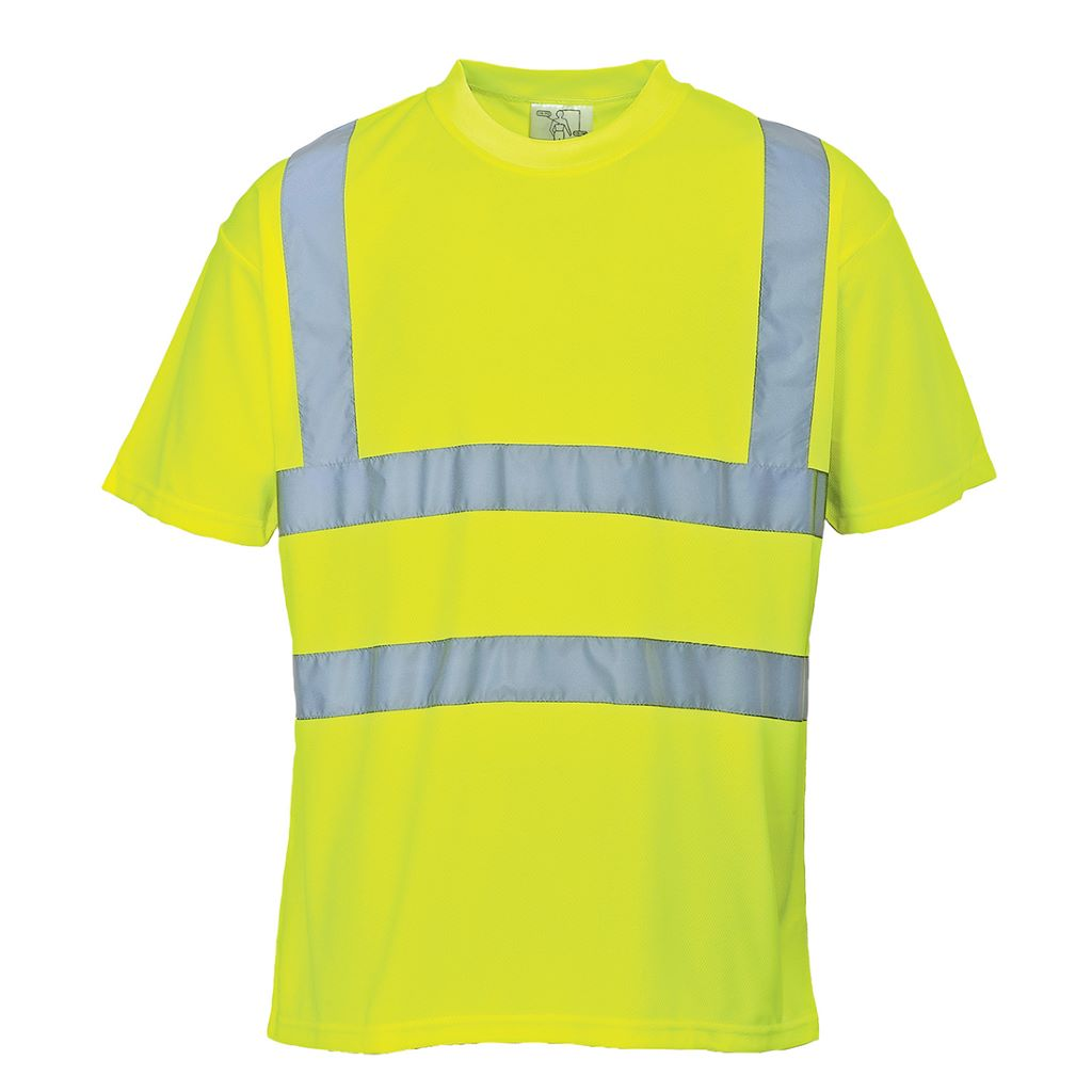 Hi-Vis T Shirt S478 Yellow