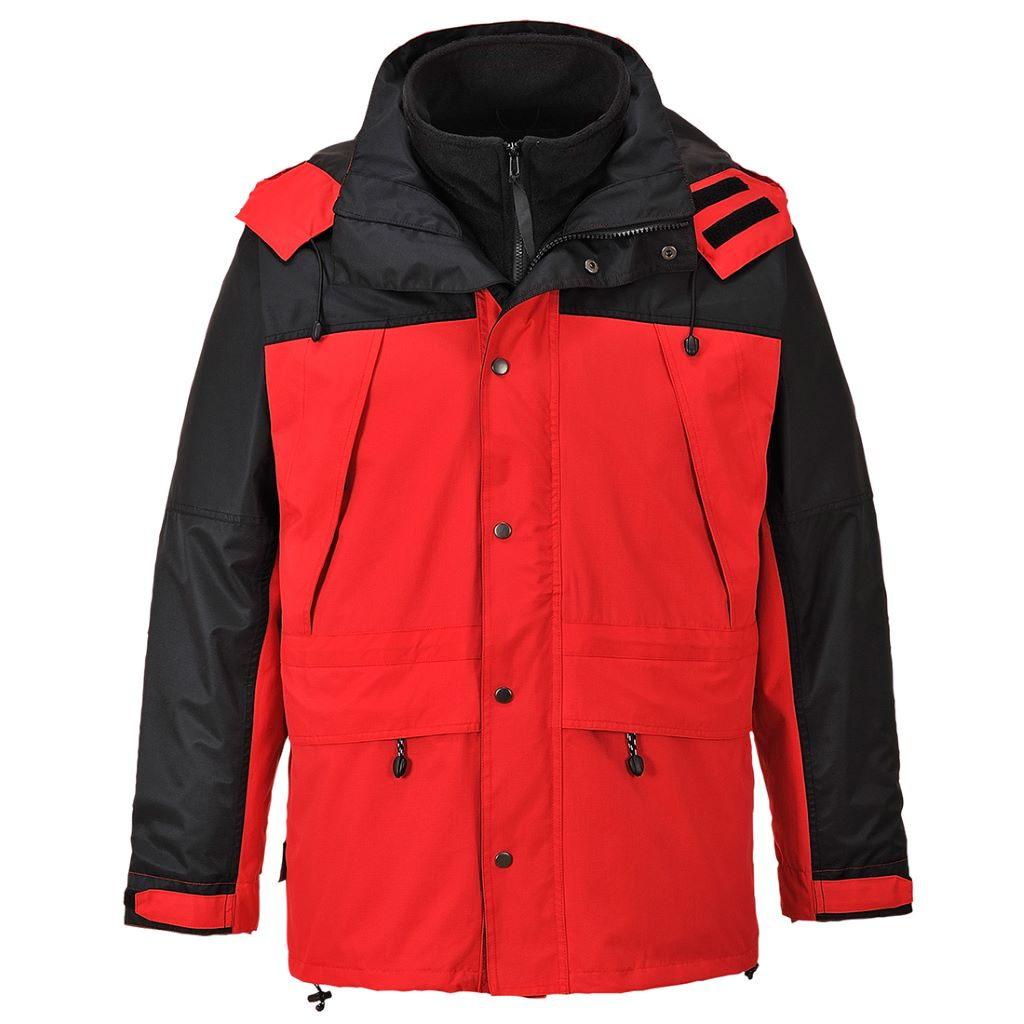 Orkney 3in1 Jacket S532 Red