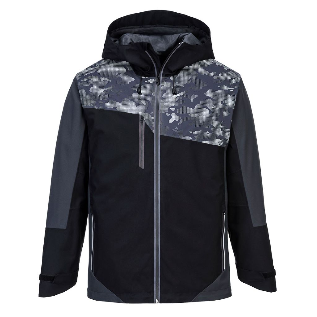 Portwest X3 Reflective Jacket S601 BlackGrey