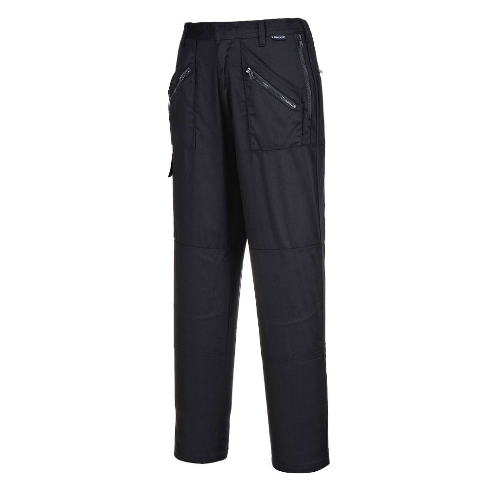 Ladies Action Trousers S687 Black