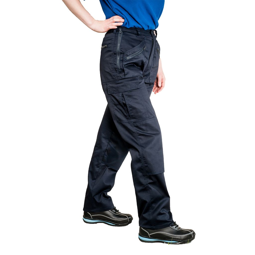 Ladies Action Trousers S687 Navy