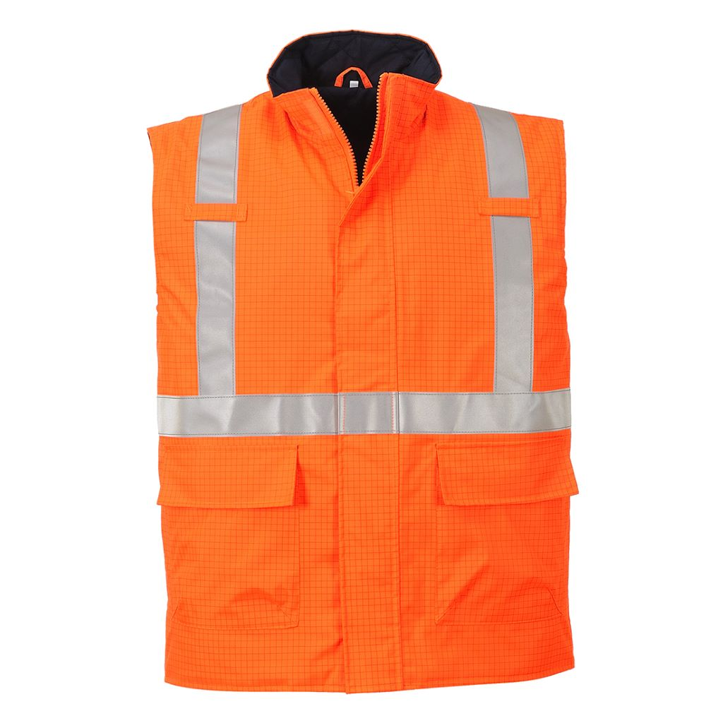 Bizflame FR Bodywarmer S776 Orange