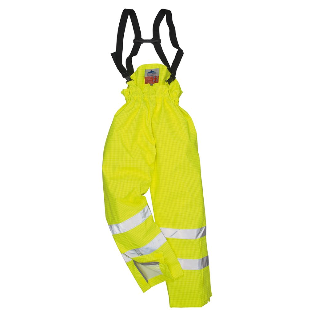 Antistatic FR Trousers S780 Yellow