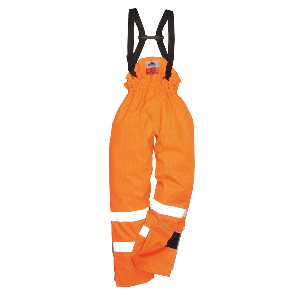 Antistatic FR Lined Trs S781 Orange