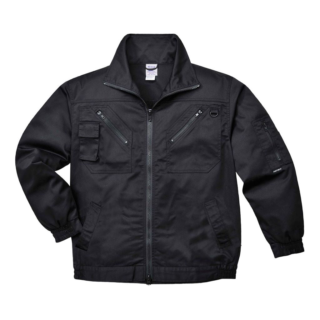 Action Jacket S862 Black