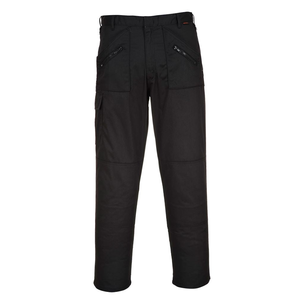 Action Trousers S887 Black